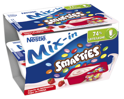 Mix-in Smarties Fresa