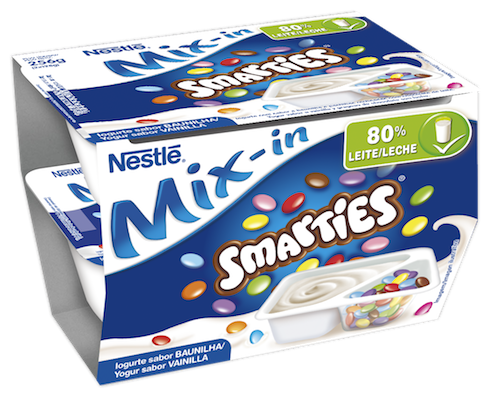 Mix-in Smarties Vainilla