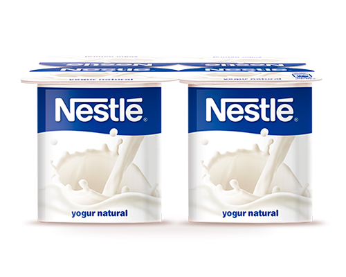 Nestlé Yogur natural x4