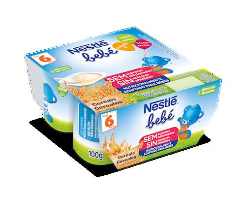 Nestl beb postres l cteos nestl - Cereales bebe 5 meses ...