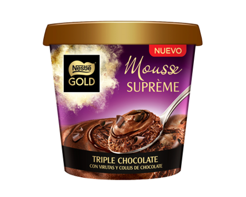 Mousse Suprème Triple Chocolate