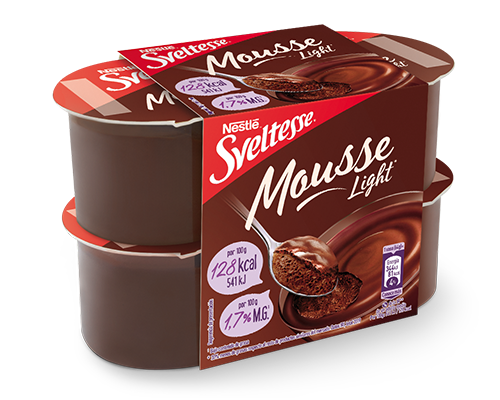 Sveltesse Mousse de chocolate